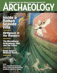 Archaeology Magazine Robin Hood Sherwood Forest King John's Palace Mercian Archaeological Services CIC